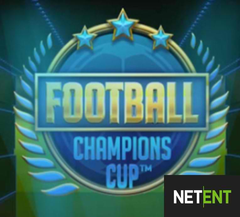 Football: Champions Cup™ Slot From NetEnt Releasing In May