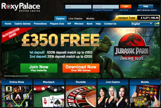 roxy palace online casino wizards win